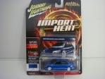Mitsubishi Lancer Evolution 2004 Blue Street Freaks 1:64 Johny Lightning